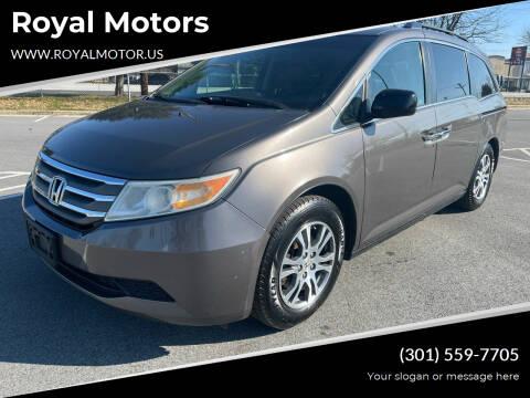 2011 Honda Odyssey for sale at Royal Motors in Hyattsville MD