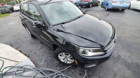 2016 Volkswagen Tiguan for sale at YOUR BEST DRIVE in Oakland Park FL