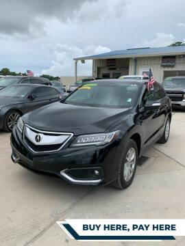 2018 Acura RDX for sale at GRG Auto Plex in Houston TX