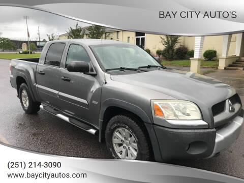 2006 Mitsubishi Raider for sale at Bay City Auto's in Mobile AL