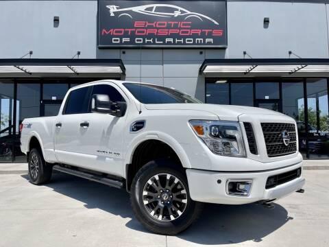 2019 Nissan Titan XD for sale at Exotic Motorsports of Oklahoma in Edmond OK