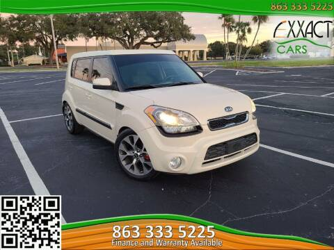 2012 Kia Soul for sale at Exxact Cars in Lakeland FL