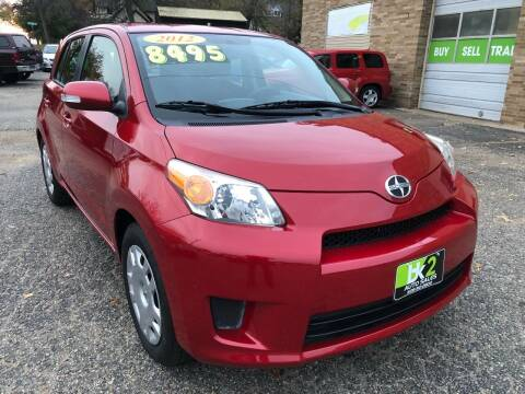 2012 Scion xD for sale at BK2 Auto Sales in Beloit WI