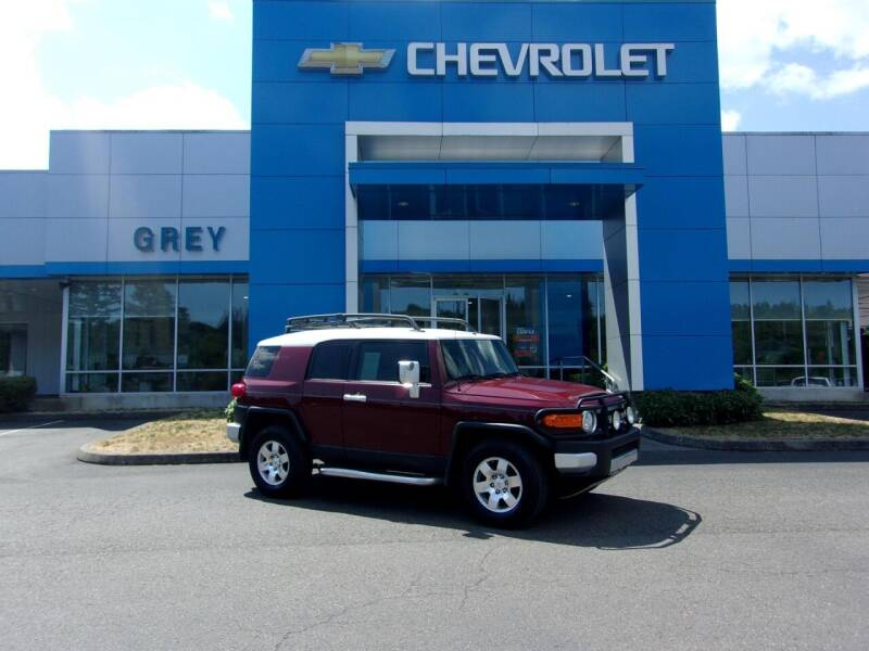 2008 Toyota FJ Cruiser for sale at Grey Chevrolet, Inc. in Port Orchard WA