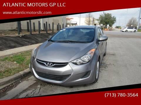2011 Hyundai Elantra for sale at ATLANTIC MOTORS GP LLC in Houston TX