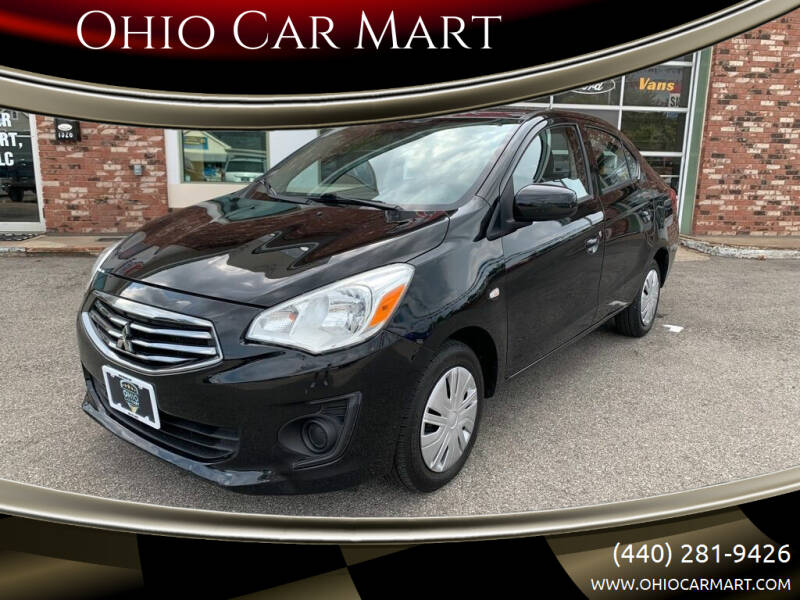 2018 Mitsubishi Mirage G4 for sale at Ohio Car Mart in Elyria OH