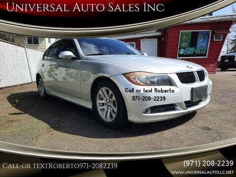 2007 BMW 3 Series for sale at Universal Auto Sales Inc in Salem OR