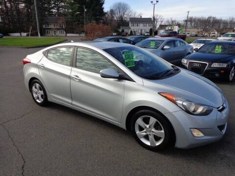 2013 Hyundai Elantra for sale at BETTER BUYS AUTO INC in East Windsor CT