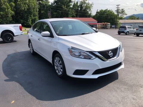 2017 Nissan Sentra for sale at KNK AUTOMOTIVE in Erwin TN