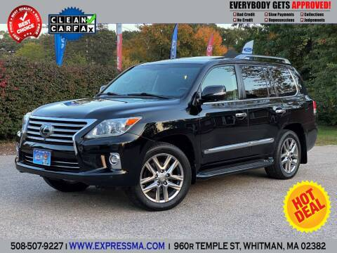 2015 Lexus LX 570 for sale at Auto Sales Express in Whitman MA