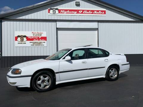 2000 Chevrolet Impala for sale at Highway 9 Auto Sales - Visit us at usnine.com in Ponca NE