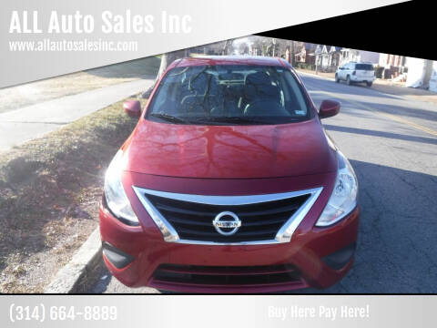 2016 Nissan Versa for sale at ALL Auto Sales Inc in Saint Louis MO