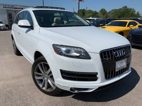 2013 Audi Q7 for sale at KAYALAR MOTORS in Houston TX
