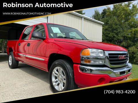 2007 GMC Sierra 1500 Classic for sale at Robinson Automotive in Albemarle NC