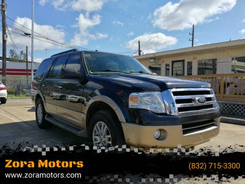 2014 Ford Expedition for sale at Zora Motors in Houston TX