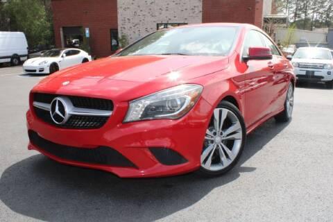 2014 Mercedes-Benz CLA for sale at Atlanta Unique Auto Sales in Norcross GA