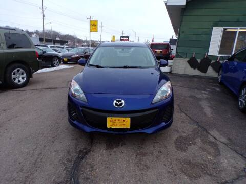 2012 Mazda MAZDA3 for sale at Brothers Used Cars Inc in Sioux City IA