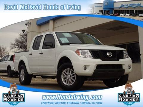 2018 Nissan Frontier for sale at DAVID McDAVID HONDA OF IRVING in Irving TX