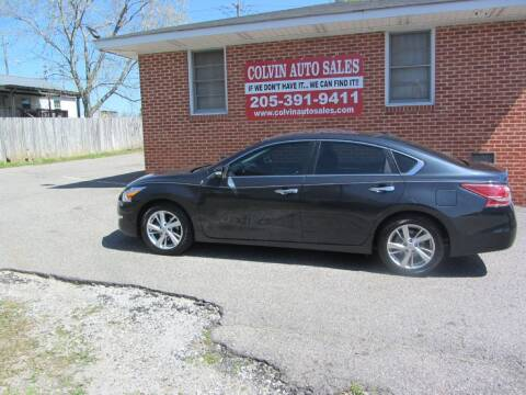 2013 Nissan Altima for sale at Colvin Auto Sales in Tuscaloosa AL