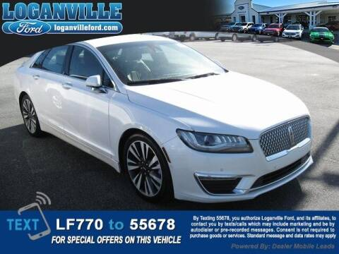 2018 Lincoln MKZ for sale at Loganville Ford in Loganville GA