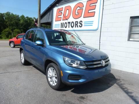 2017 Volkswagen Tiguan for sale at Edge Motors in Mooresville NC