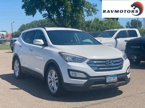 2014 Hyundai Santa Fe Sport for sale at RAVMOTORS in Burnsville MN