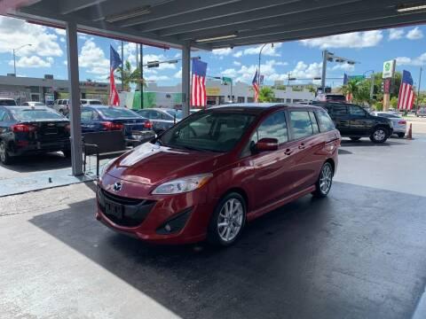 2015 Mazda MAZDA5 for sale at American Auto Sales in Hialeah FL