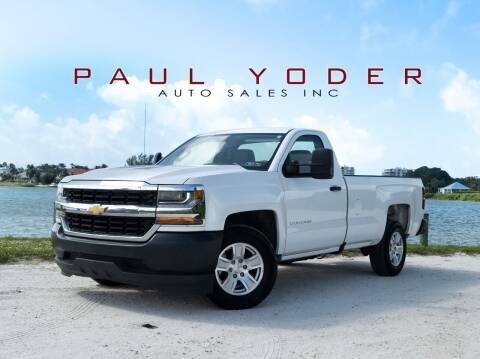 2016 Chevrolet Silverado 1500 for sale at PAUL YODER AUTO SALES INC in Sarasota FL