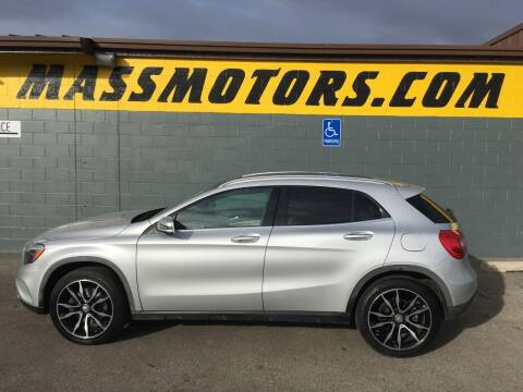 2015 Mercedes-Benz GLA for sale at M.A.S.S. Motors - Fairview in Boise ID