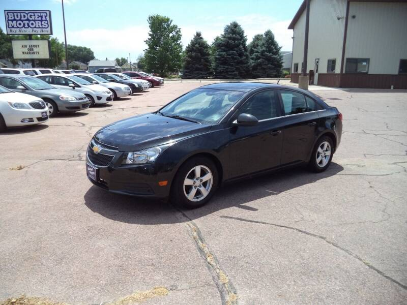 2014 Chevrolet Cruze for sale at Budget Motors in Sioux City IA