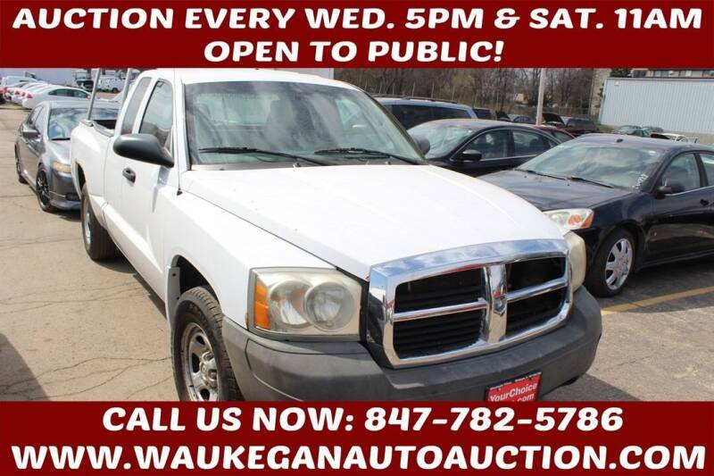 2006 Dodge Dakota for sale at Waukegan Auto Auction in Waukegan IL