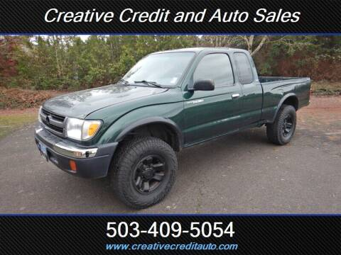 1999 Toyota Tacoma for sale at Creative Credit & Auto Sales in Salem OR