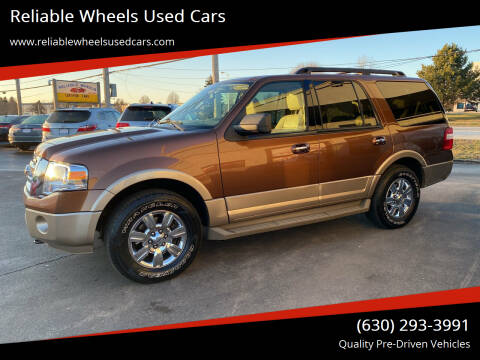 2012 Ford Expedition for sale at Reliable Wheels Used Cars in West Chicago IL