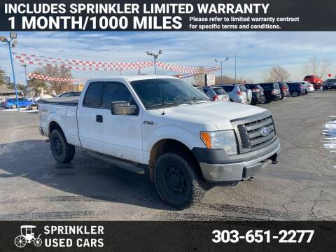 2010 Ford F-150 for sale at Sprinkler Used Cars in Longmont CO