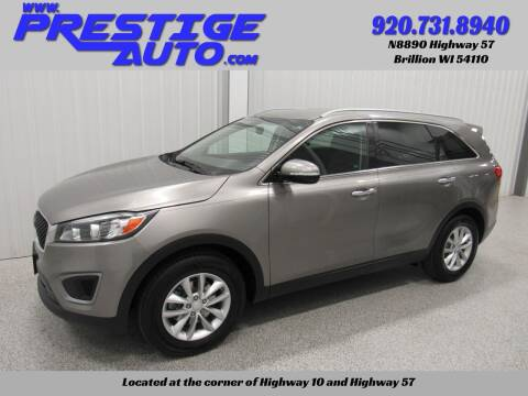 2016 Kia Sorento for sale at Prestige Auto Sales in Brillion WI