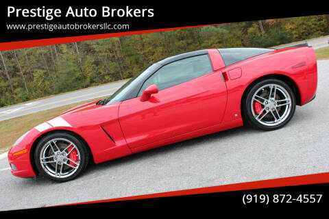 2006 Chevrolet Corvette for sale at Prestige Auto Brokers in Raleigh NC