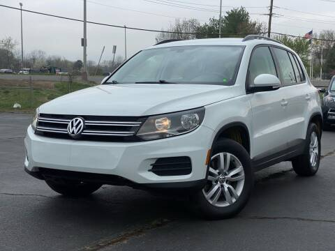 2017 Volkswagen Tiguan for sale at MAGIC AUTO SALES in Little Ferry NJ
