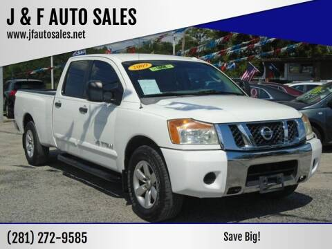 2008 Nissan Titan for sale at J & F AUTO SALES in Houston TX