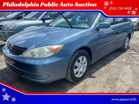 2004 Toyota Camry for sale at Philadelphia Public Auto Auction in Philadelphia PA