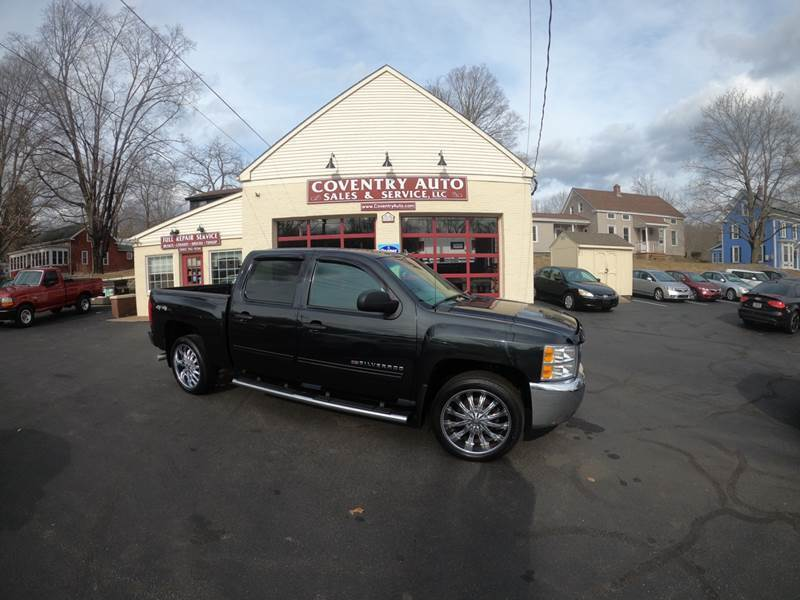 2012 Chevrolet Silverado 1500 for sale at COVENTRY AUTO SALES in Coventry CT