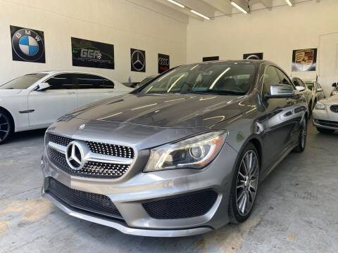 2016 Mercedes-Benz CLA for sale at GCR MOTORSPORTS in Hollywood FL