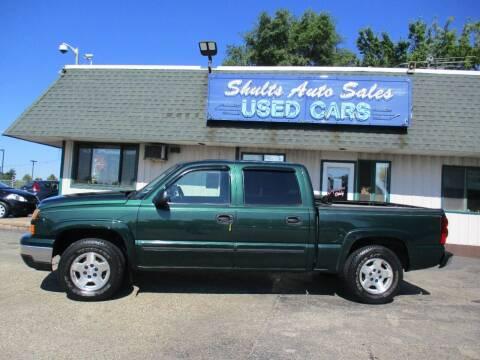 2006 Chevrolet Silverado 1500 for sale at SHULTS AUTO SALES INC. in Crystal Lake IL