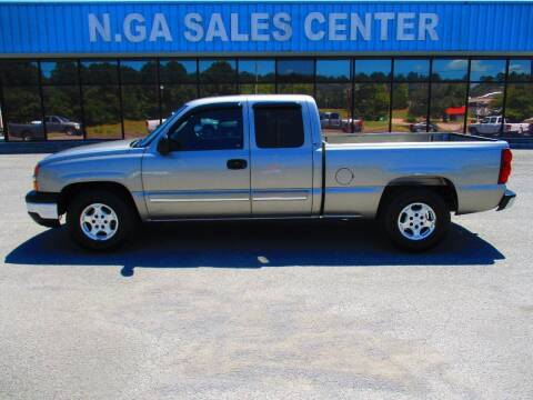 2003 Chevrolet Silverado 1500 for sale at NORTH GEORGIA Sales Center in La Fayette GA