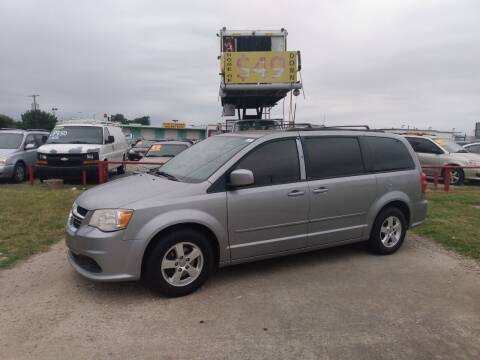 2013 Dodge Grand Caravan for sale at USA Auto Sales in Dallas TX