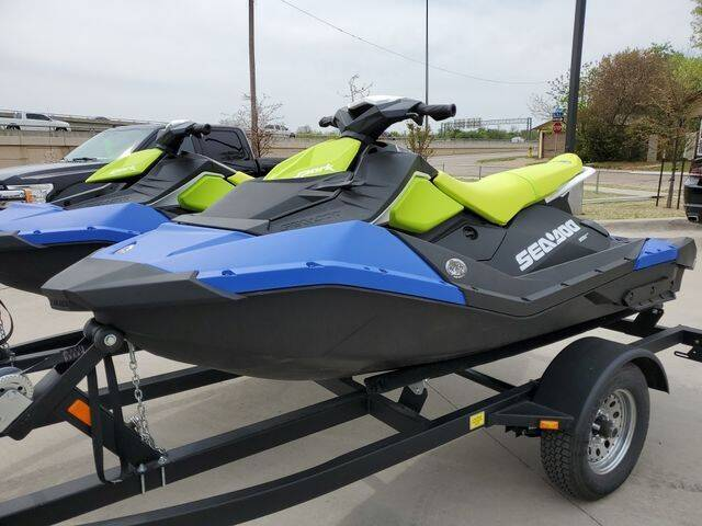 2021 Sea-Doo/BRP SPARK 3UP TRIXX for sale at Kell Auto Sales, Inc - Grace Street in Wichita Falls TX