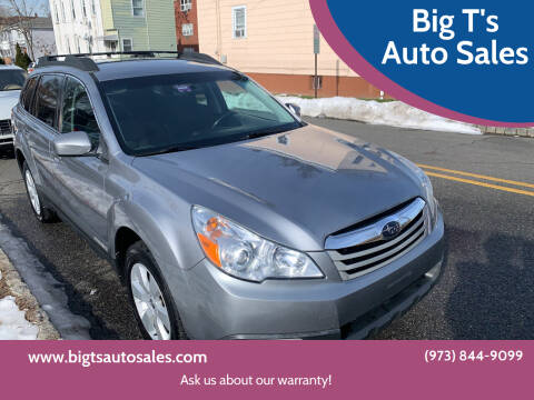 2011 Subaru Outback for sale at Big T's Auto Sales in Belleville NJ