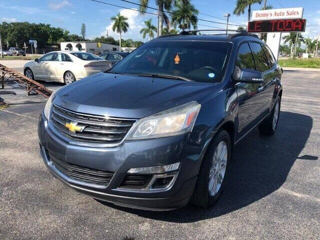 2014 Chevrolet Traverse for sale at Denny's Auto Sales in Fort Myers FL