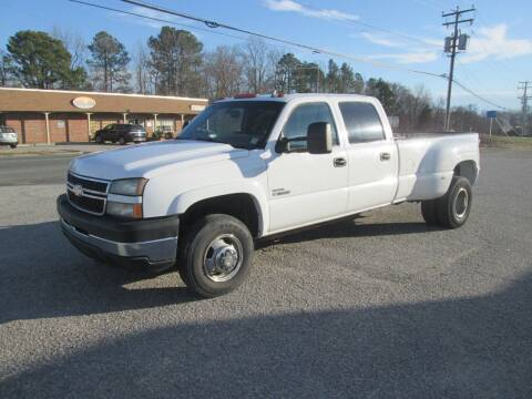 2006 Chevrolet Silverado 3500 for sale at Wally's Wholesale in Manakin Sabot VA