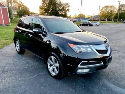 2013 Acura MDX for sale at ANZ Auto llc in Fredericksburg VA