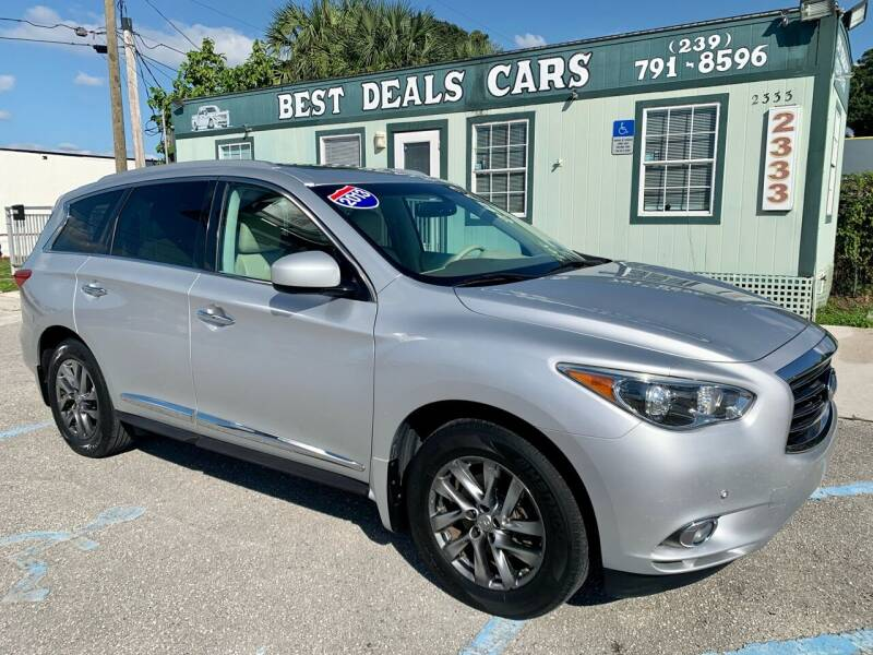 2013 Infiniti JX35 for sale at Best Deals Cars Inc in Fort Myers FL